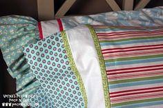 Piece N Quilt: Verna's Pillowcases Tutorial