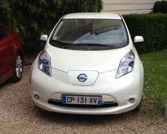 Voiture électrique : La Nissan Leaf, voiture électrique gagnante du prix auto environnement Maaf