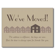 were moving change of address cards free printables pinterest free printables change and cards