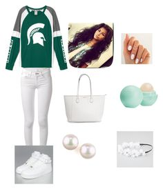 """""""MUS#jessie"""" by foreveryoug ❤ liked on Polyvore featuring rag & bone, NIKE, Eos, Majorica, Full Tilt, women's clothing, women's fashion, women, female and woman"""
