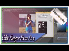 """Neste vídeo abordaremos um jeito mais """"fácil""""d e se fazer seleções com base na cor e no foco ( este último para o PS CC 14). Bônus: utilize o Camera Raw para..."""