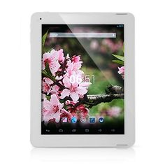 PIPO M6 Quad Core RK3188 MID Tablet PC 9.7 Inch Retina Screen Android 4.2 2G RAM Bluetooth Dual Camera Color Silver...