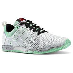 Reebok Womens Crossfit Athlete Select Pack Sprint Tr Training Sneaker in  Grey Porcelain / Mint Glow / Black / Silver Size