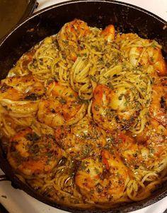 Yumy Desserts: Cajun Shrimp Scampi