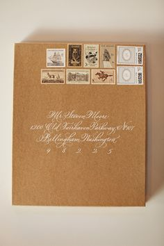 Gorgeous invitations for timeless and classic wedding, photos by Michele M Waite Photography | junebugweddings.com