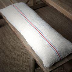 Vintage Linen Bench Cushion - Mobius Living