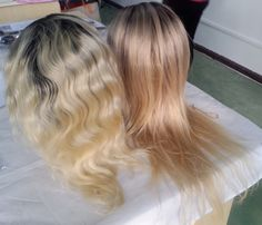 Ombre hair lace wig.Both full lace wig and front lace wig are availble.