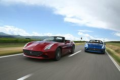 The New Ferrari California T.  Part of Ferrari's 2014 Goodwood Festival of Speed line up, which includes two new road cars making their FoS debut - The California T and the 458 Speciale.  Find out more at Carphile.co.uk