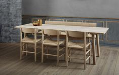 Fredericia launches furniture collection by Jasper Morrison Luxury Dining Tables, Dining Table Design, Dining Area, Dining Chairs, Simple Furniture, Fine Furniture, Luxury Furniture, Top Interior Designers, Small Tables