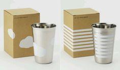 DESIGN DESIGN|デザインデザイン ステンレス製デ ザインエコカップ 「Cloud Cup」と「Sign Cup」