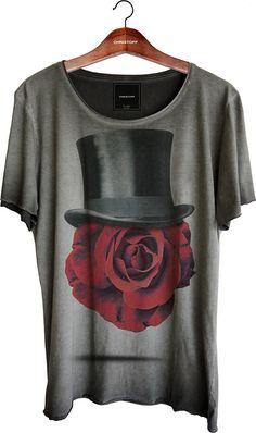 Camiseta Relax - Face Rose