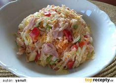 Svěží letní salát Potato Salad, Cabbage, Grains, Potatoes, Rice, Vegetables, Ethnic Recipes, Food, Campaign