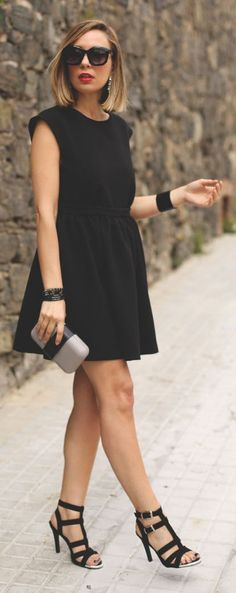 Glam Little Black Inspiration Dress by My Showroom Blog