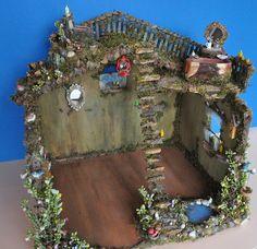 My fairy house doll house miniature fairytale house project :)