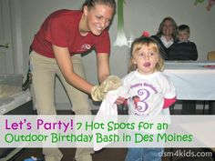 Let's Party! 7 Hot Spots for an Outdoor Birthday Bash in Des Moines - dsm4kids.com
