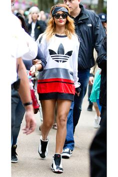 Kick up Your Summer Style in Star-Approved Sneakers featuring Rihanna