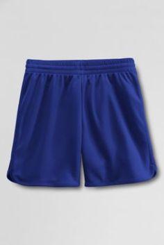 Girls' Mesh Shorts from Lands' End Pe Uniform, School Uniform, Uniform Ideas, Lands End, Gym Men, Shorts, Mesh, Girls, Fun