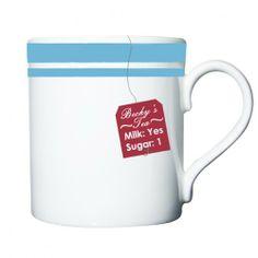 Personalised Tea Label Mug  from Personalised Gifts Shop - ONLY £9.99