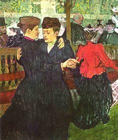 Анри Тулуз-Лотрек. Мулен Руж. 1888?
