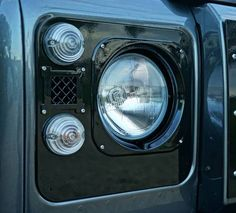 Land Rover Defender Front End styling by Uproar Land Rover Defender 110, Landrover Defender, Defender 90, Car Mods, Land Rovers, Camper Ideas, 4x4, Motorcycles, Trucks