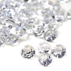 10mm Clear Diamond Confetti, 800-Pack [403307] : Wholesale Wedding Supplies, Discount Wedding Favors, Party Favors, and Bulk Event Supplies