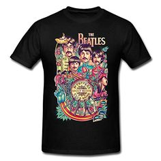 Huaxian Personalized The Beatles T-shirt For Mens