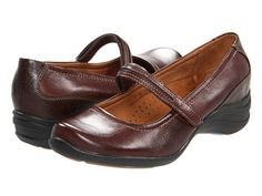Hush Puppies Epic Mary Jane Dark Brown Leather - Zappos.com Free Shipping BOTH Ways