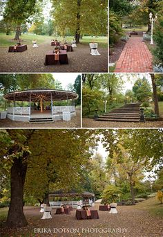 Lower Lawn and Gazebo at Magnolia Gardens in Springdale, Arkansas   http://www.erikadotsonphotography.com/blog/2014/2/magnolia-gardens-wedding-and-event-venue-in-northwest-arkansas