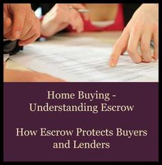 What is an #Escrow? In home buying, escrow accounts are used for various items to protect home owners and lenders. Learn more about this facet of #realestate. Greg Hancock #BHHS Professional Realty.