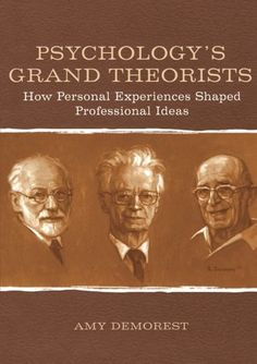 Psychology's Grand Theorists: How Personal Experiences Shaped Professional Ideas by Amy P. Demorest http://www.amazon.com/dp/0805851089/ref=cm_sw_r_pi_dp_BvtZwb0WRXJ9V