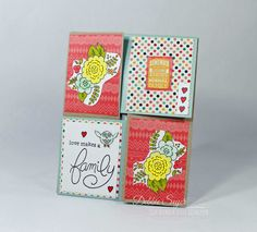 How to Create a Quarter Fold Card by @debbiemom23cs