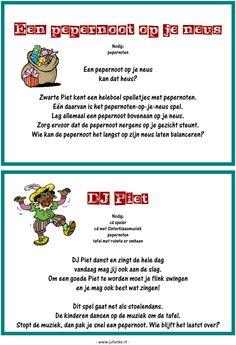 Feest: spelletjesmiddag Sinterklaas 8/9