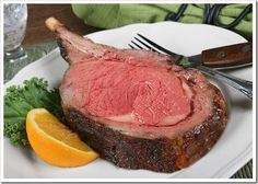 Prime Rib Everytime (The Best Ever) Best Restaurant-Style Prime Rib Roast Ever!Best Restaurant-Style Prime Rib Roast Ever! Rib Recipes, Roast Recipes, Steak Recipes, Cooking Recipes, Game Recipes, Recipies, Cooking Bacon, Cooking Wine, Cooking Games