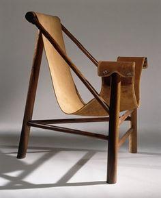 1948_ chaise 'Tripé' par lina bo bardi