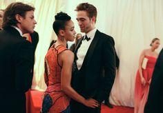 Christopher Kane, FKA twigs in Christopher Kane, and Robert Pattinson