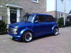 Autofashion Mini Majic bodykit on Classic mini Mini Cooper S, Mini Cooper Classic, Classic Mini, Mini Jeep, Toyota Echo, Mini Morris, Bmw Classic Cars, Mini Clubman, Mini Trucks