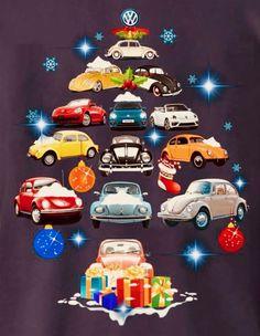 Delightful wish! One of each, please, Santa. Vw Bus, Vw Camper, Beetle Bug, Vw Beetles, Diy Auto, Vw Accessories, Christmas Fun, Xmas, Audi