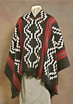 Art Culture of the Mapuche People Weaving Patterns, Textile Patterns, Gaucho, Bohemian Men, Thai Traditional Dress, Textiles, Ethnic Dress, Lana, Culture