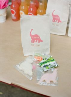Dino Party...lunch bags or dino egg hunt bags