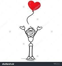 Image result for stickman love