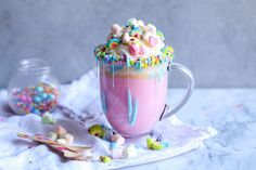 Recipe: Unicorn Hot Chocolate