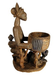 Art Africain, Project 3, African Art, Ceramic Art, Sculpture Art, Pots, Container, Clay, Statue