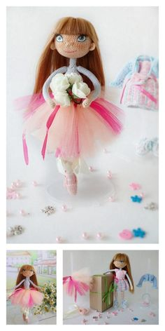 Amigurumi Unicorn Girl Doll Free Pattern Unicorn Ears, Unicorn Doll, Amigurumi Doll, Amigurumi Patterns, Crochet Patterns, Last Stitch, Hello Dear, Stitch Markers, Single Crochet