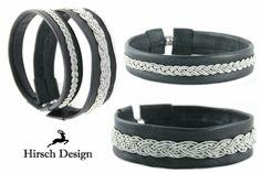 Lederarmband, Sami Armband von Hirsch-Design auf DaWanda.com