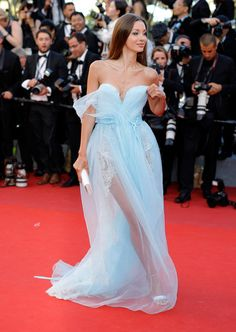 "Lara Lieto attends the ""Ismael's Ghosts (Les Fantomes d'Ismael)"" screening and Opening Gala during the 70th annual Cannes Film Festival at Palais des Festivals on May 17, 2017 in Cannes, France."