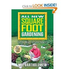 Square Foot Garden... Need to check this out.