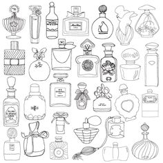 Segredos de Paris. Livro de Colorir & Passeios Antiestresse - Livros na Amazon.com.br (Bottle Sketch Simple)