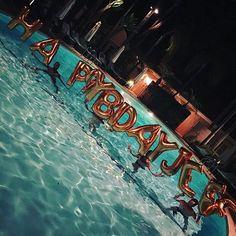 Late Night Birthday Loving and splashing at Hotel Bel Air - 💦💦💦💦- 💥💥💥- Love #TeamLeatham - #ItsmyfuckingDay - #hotelbelair