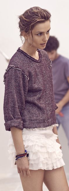 Isabel Marant is a master of style! We love the look!