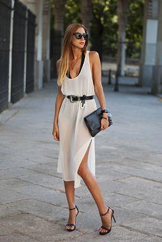 See trough dress